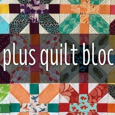 FUSSY CUT X PLUS QUILT BLOCKS