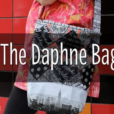 THE DAPHNE BAG BY CLOVER & VIOLET