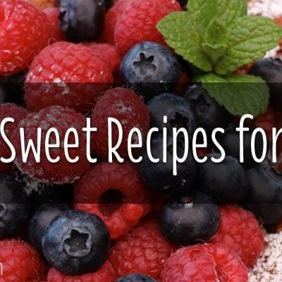 TOP 5 SWEET RECIPES FROM 2014