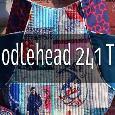 NAUGHTY-CAL NOODLEHEAD 241 TOTE