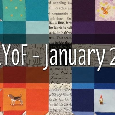 A LOVELY YEAR OF FINISHES: JANUARY 2015 PLEDGE