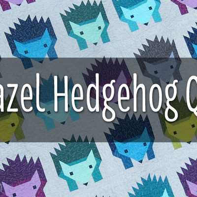 HAZEL HEDGEHOG QAL LINK PARTY