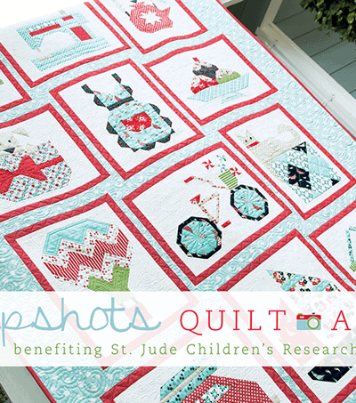 FAT QUARTER SHOP SNAPSHOTS QUILT-ALONG