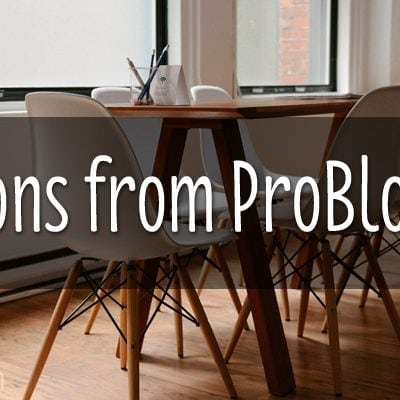 WHAT I LEARNED FROM PROBLOGGER'S FIRST SYDNEY EVENT