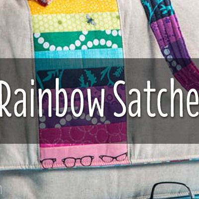 Cover Girl | Rainbow Satchel