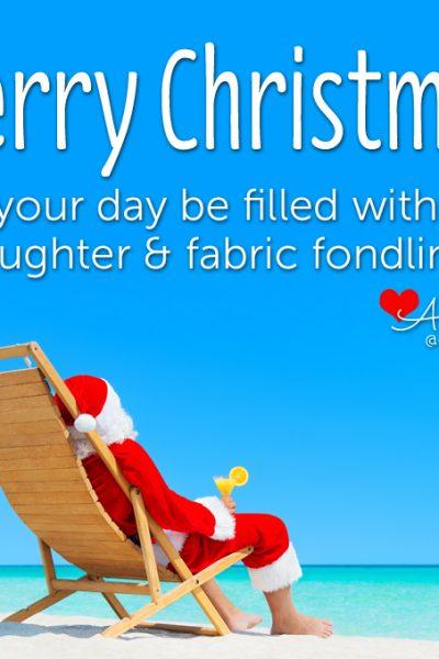 Wishing You a Merry Christmas!