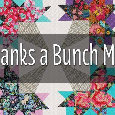 Thanks a Bunch Marti Michell Mini Quilt