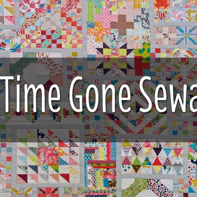 Week 12 | Long Time Gone Sew-along | Half Square Triangle Block 3