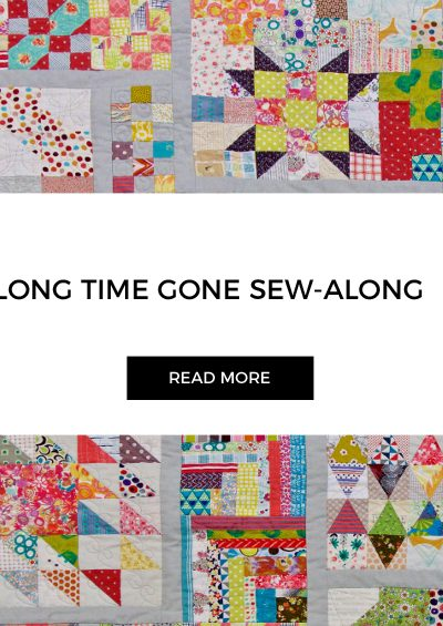 Week 14 | Long Time Gone Sew-along | 60 Degree Triangle Block