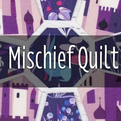 Mischief Quilt Pattern by The DIY Addict