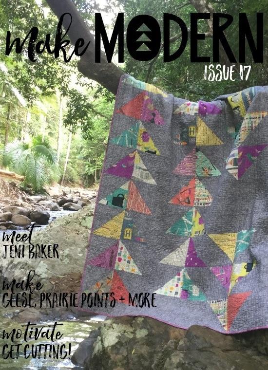 Make Modern Magazine Issue 17 + Discount Code - GnomeAngel