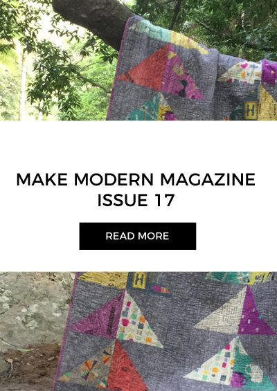 Make Modern Magazine Issue 17 + Discount Code