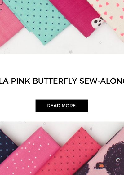 Tula Pink Butterfly Quilt Sew-along Kicks Off