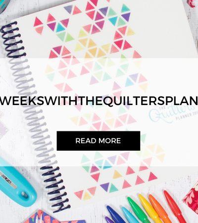 "Quilters Planner | Week 37 | Block ""Ohio Star"""