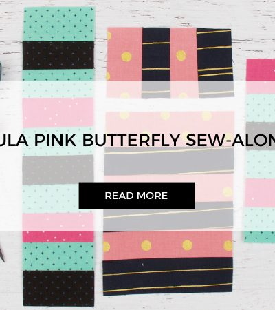 Stripe Blocks for Tula Pink Butterfly Quilt Sew-along