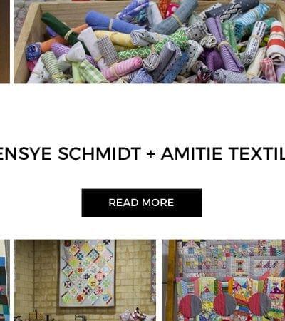 Amitie Textiles + Denyse Schmidt