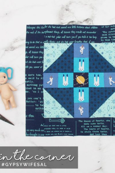 Puss in the Corner for Jen Kingwell's Gypsy Wife Quilt Sew-along