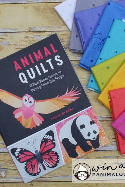 Animal Quilts by Juliet van der Heijden: A Review