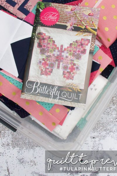 Quilt Reveal for Tula Pink Butterfly Quilt Sew-along