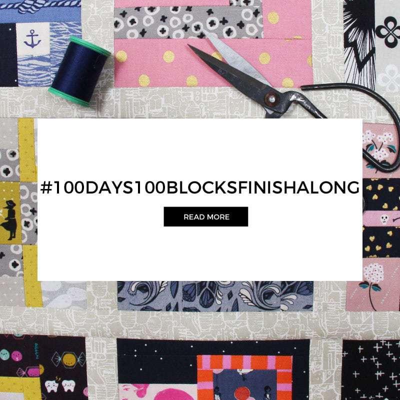 #100Days100BlocksFinishalong Kicks Off 29 April 2018