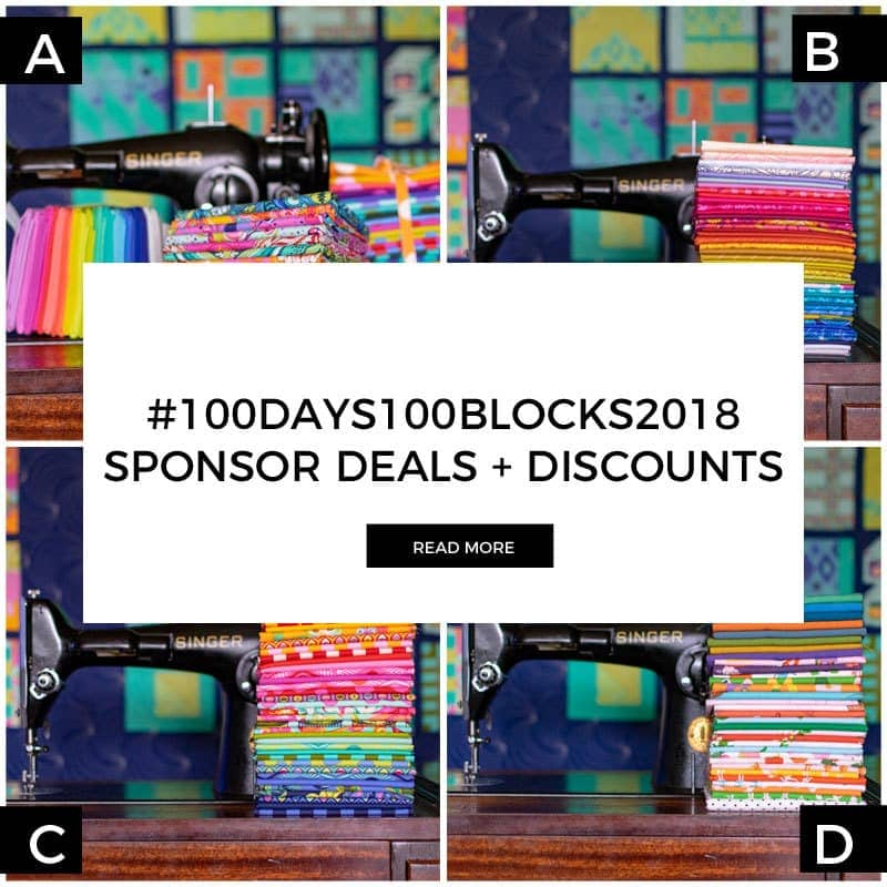 Sponsors News + Deals for #100Days100Blocks2018