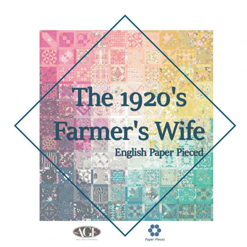 It's coming… the Farmer's Wife 1920's Sampler Quilt Sew-along