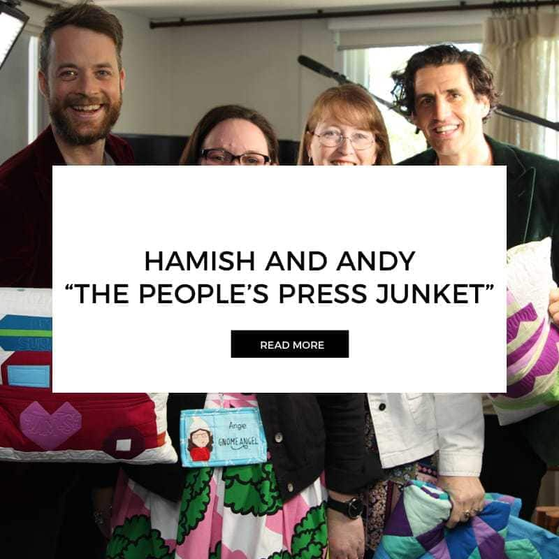 Hamish and Andy's True Stories Season 2 – The People's Junket